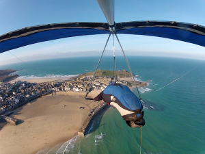 Phippsy cruising over St Ives