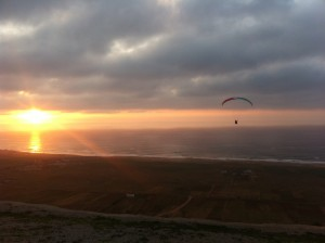 Flying til the sun goes down (Morocco)