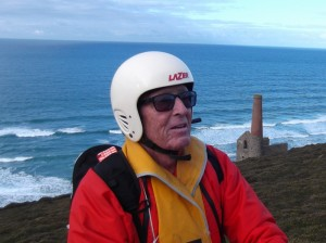 John at Chapel Porth