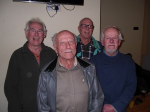 Men In the prime of life, plus Nigel Eagle.
