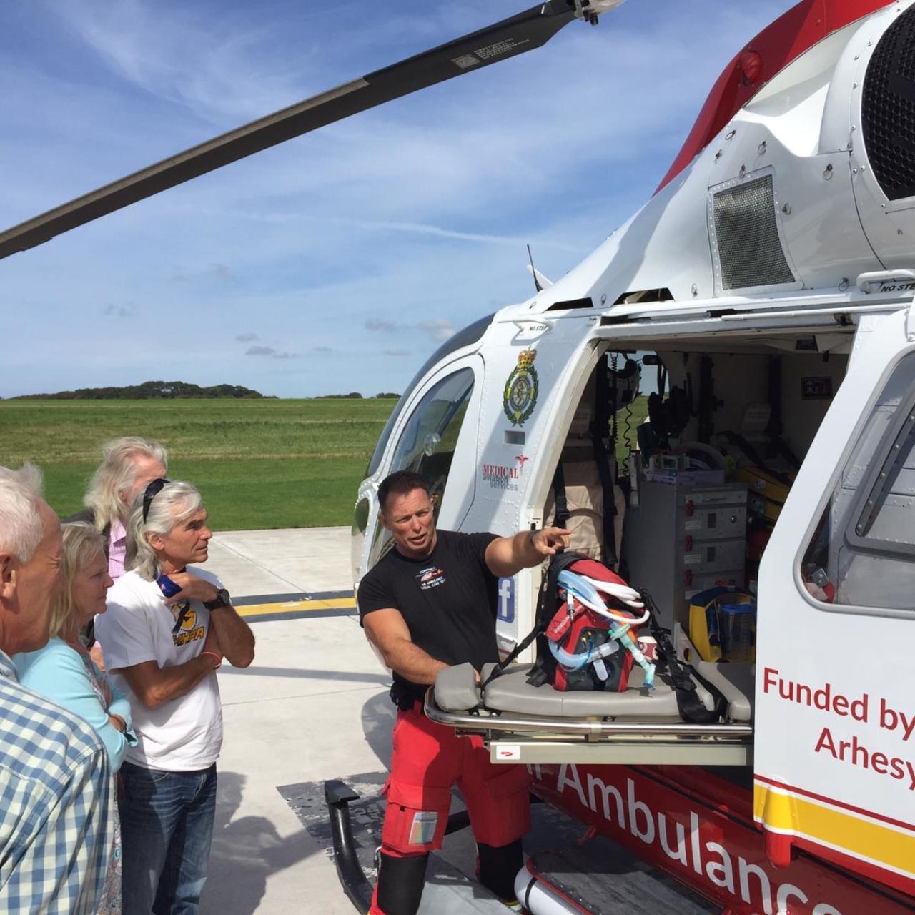 Air Ambulance Tour